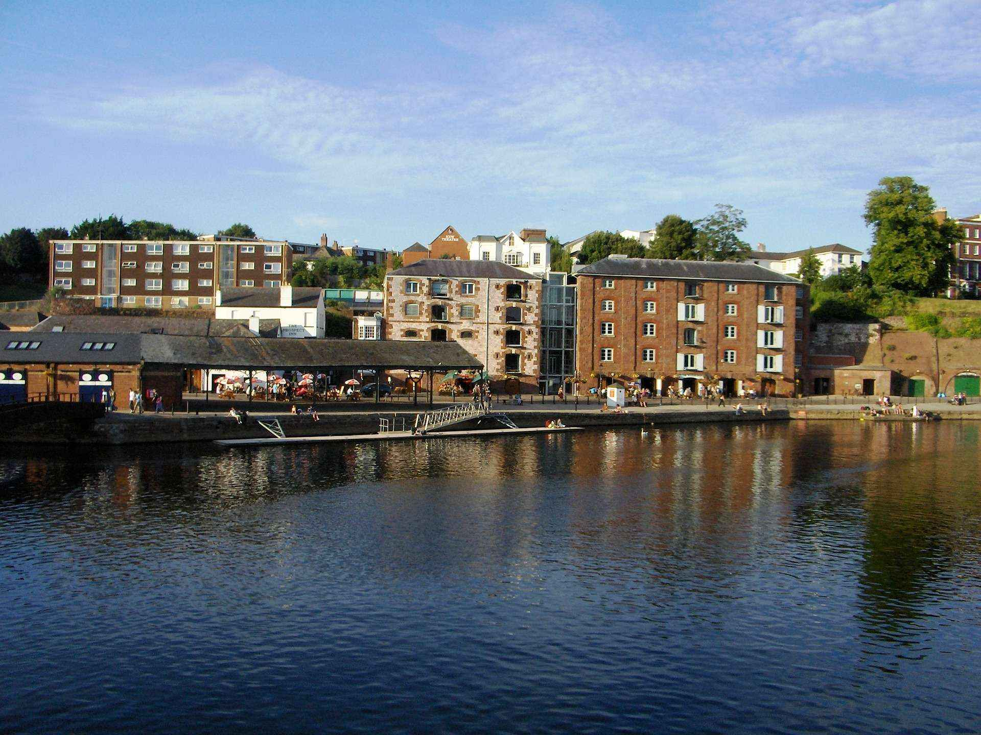 Exeter Quay - Dynamic Servers Limited - Renewable Powered Hosting From The Heart Of Devon